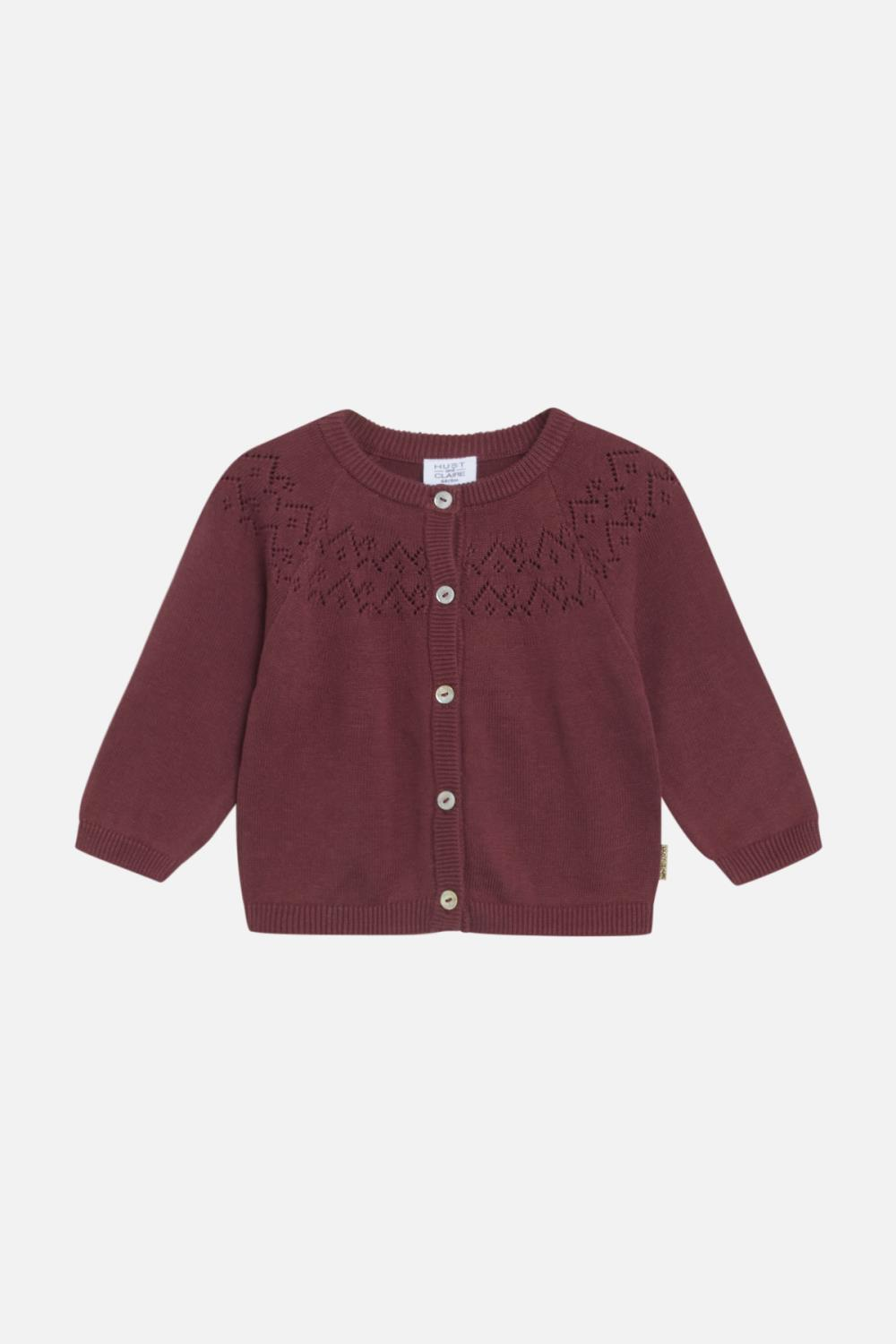 Hust and Claire - Cardigan Cleo, mahogany