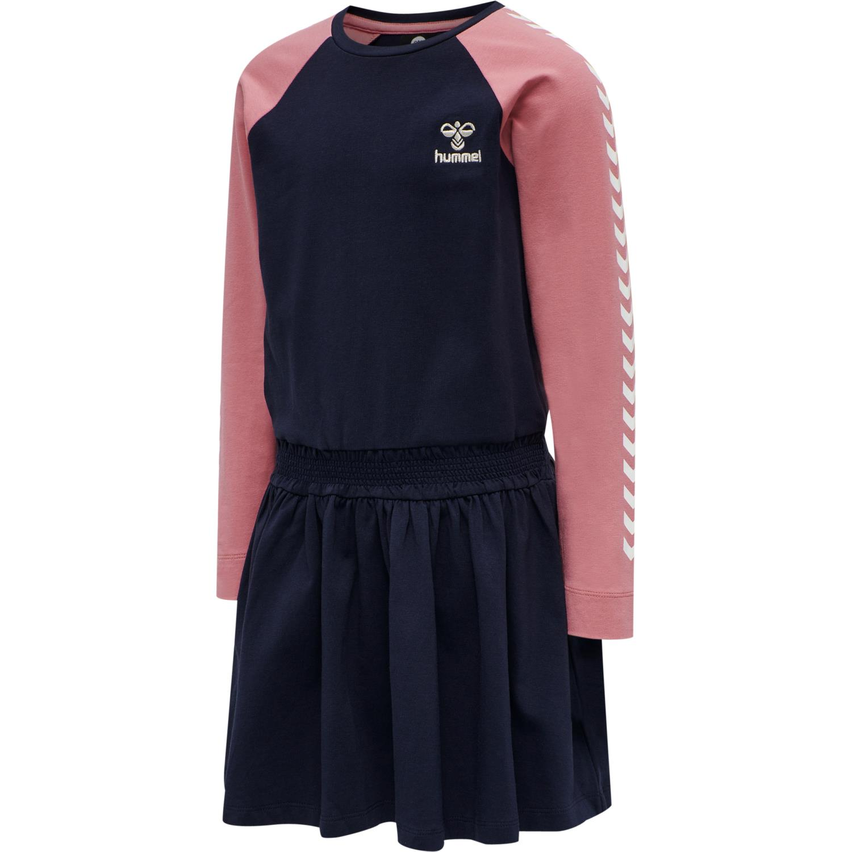 Hummel - Kamilla kjole, marine/rosa