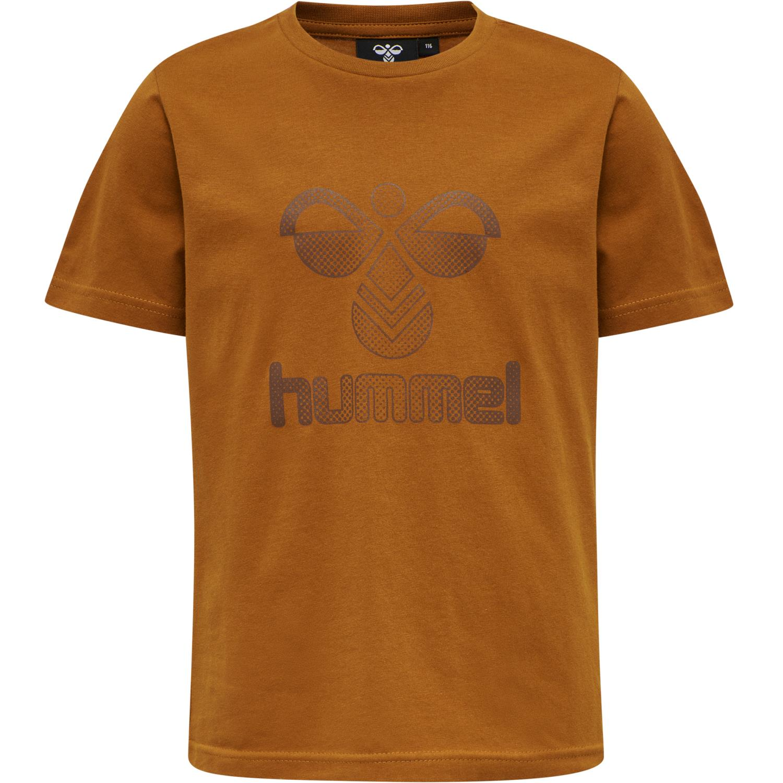 Hummel - T- shirt Drei, caramel cafe