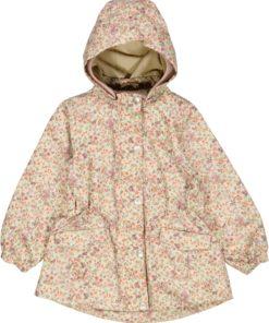 Wheat Outerwear - Jacket Ada Tech F2 9058 stone flowers