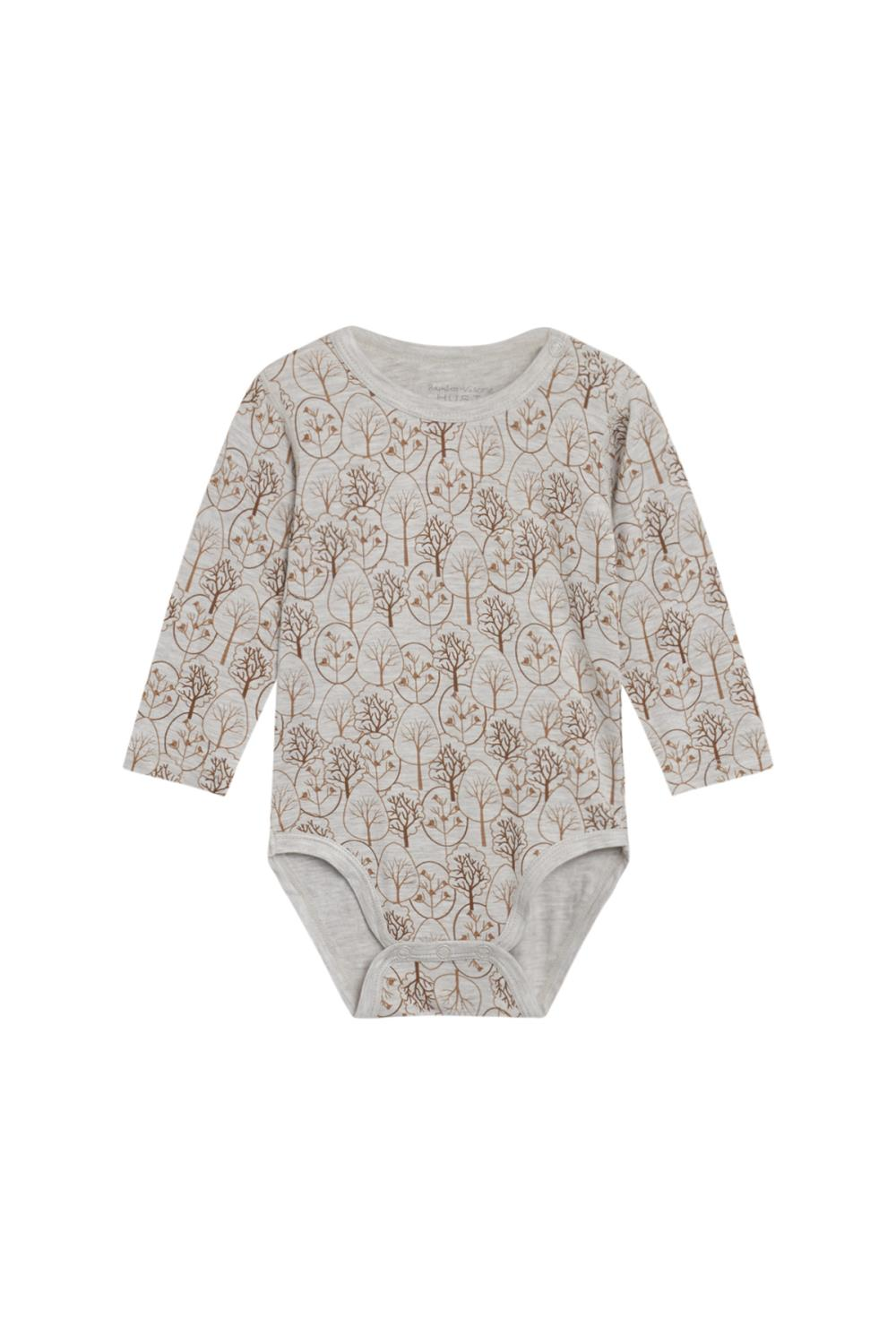 Hust and Claire - Body Buller i bambusjersey, wheat