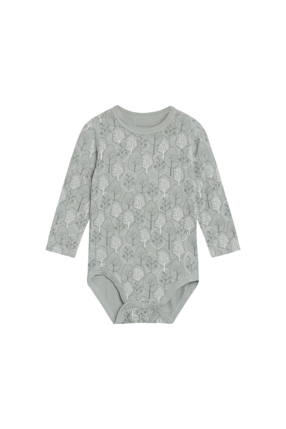 Hust and Claire - Body Buller i bambusjersey, dusty jade