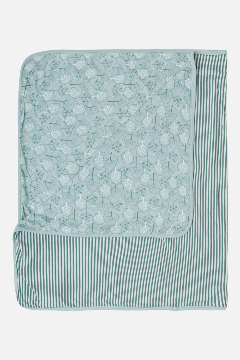 Hust and Claire - Teppe Fubi  i viscose-bambus, dusty jade