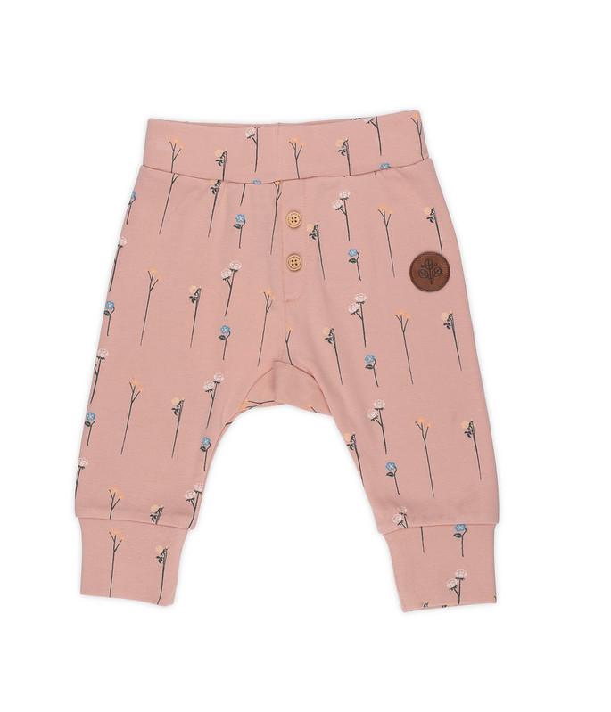 Gullkorn - Villvette Baby Bukse, soft rosa