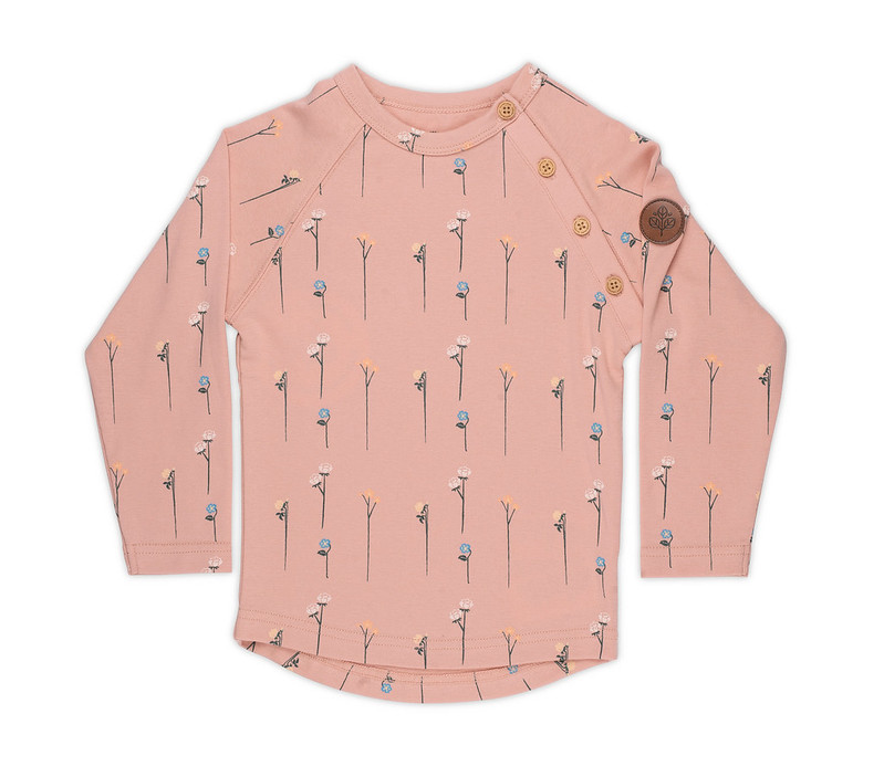 Gullkorn - Villvette Longsleeve, soft rosa