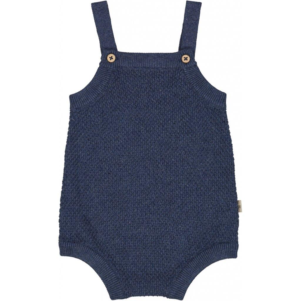 Wheat - Knit Romper Vilde F2 1076 blue melange