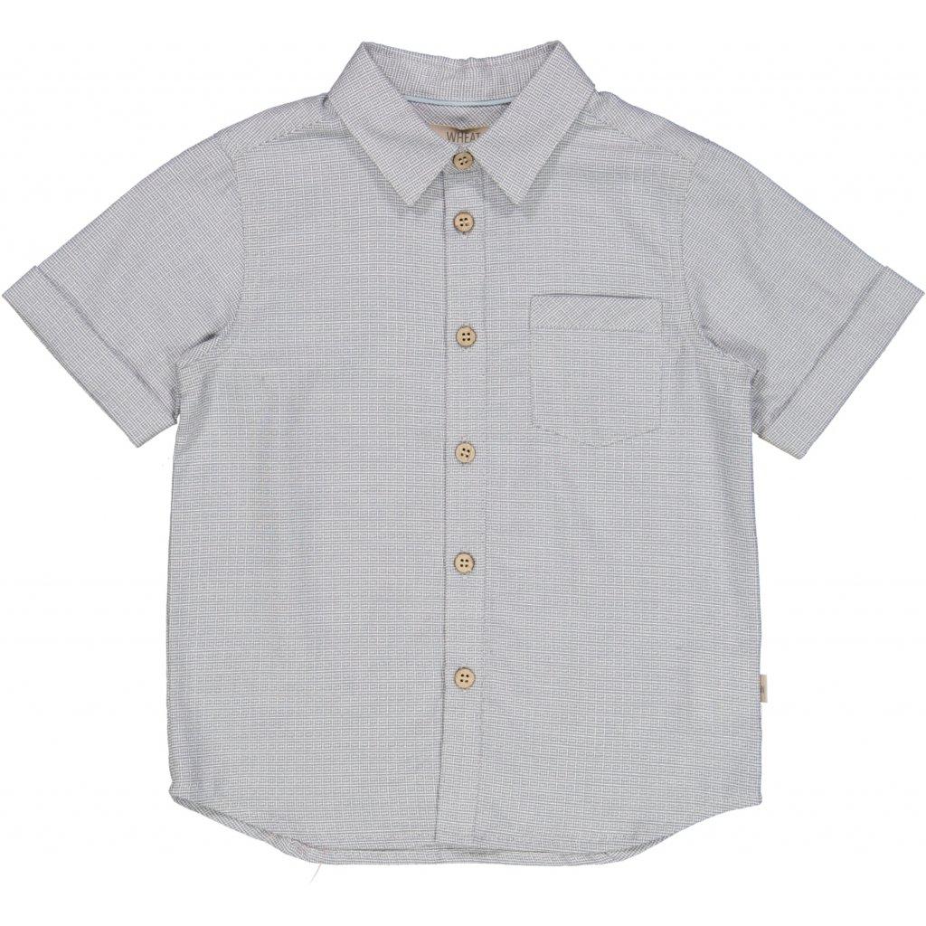 Wheat - Skjorte med kort erm Conall, dove