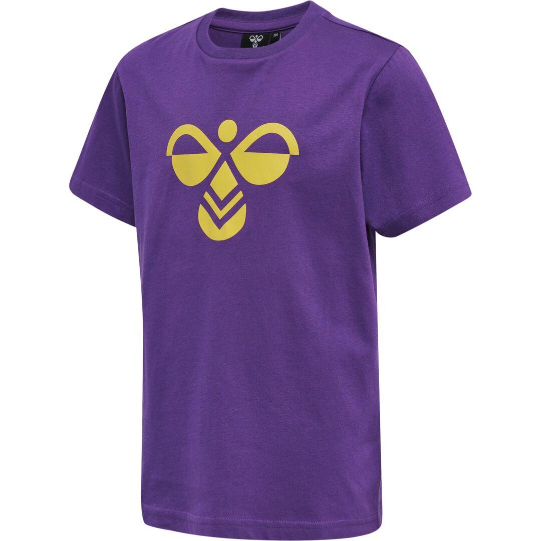 Hummel - T-shirt Charge, amaranth purple