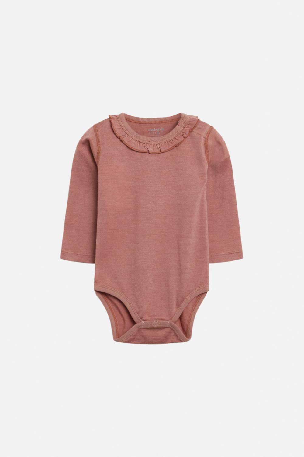 Hust and Claire - AW 20 Body Bianca i ull/silke, rosa