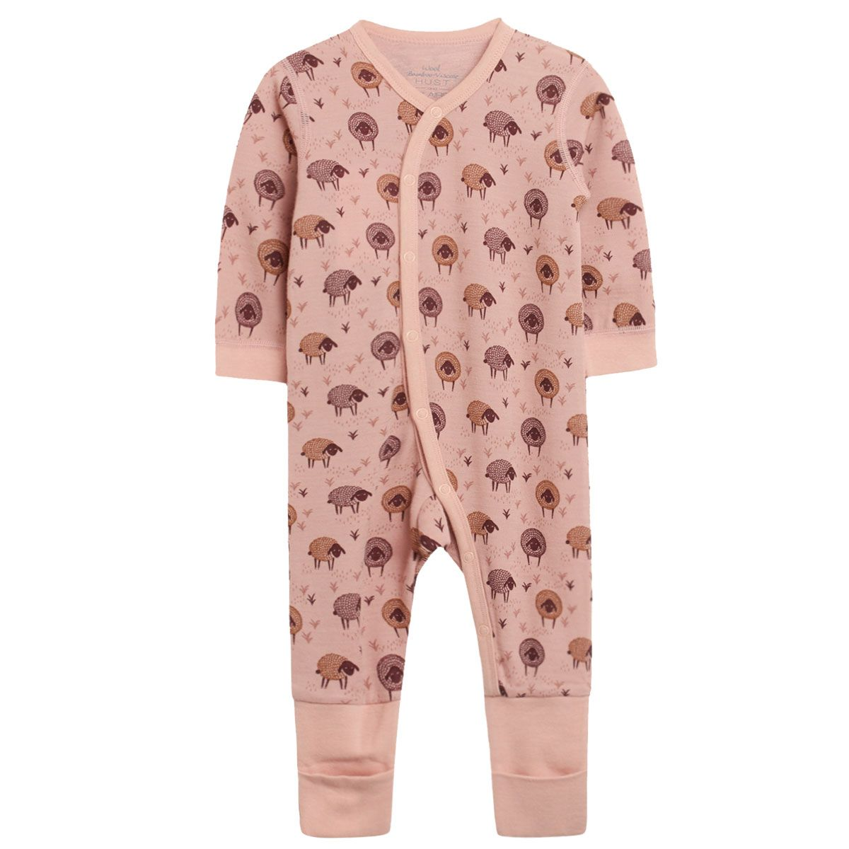 Hust and Claire - AW 20 Heldress Manu med lam, ull/bambus, desert red