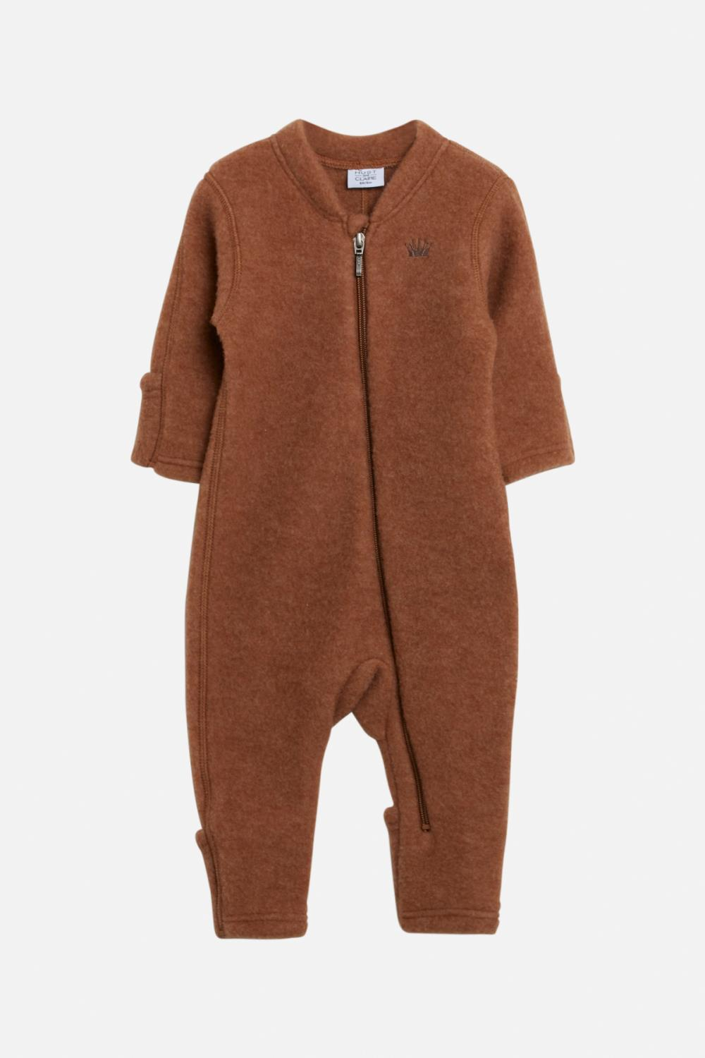 Hust and Claire - AW 20 Heldress Merlini merinoull, cognac
