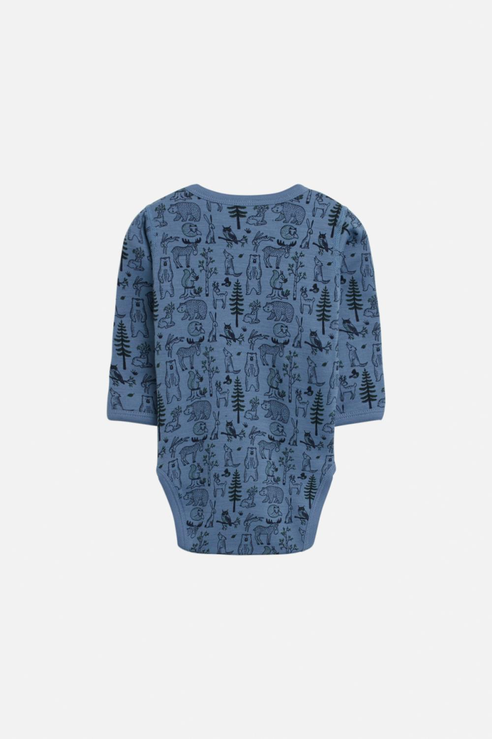 Hust and Claire - AW 20 Body Bo skog i merionoull, blue grass