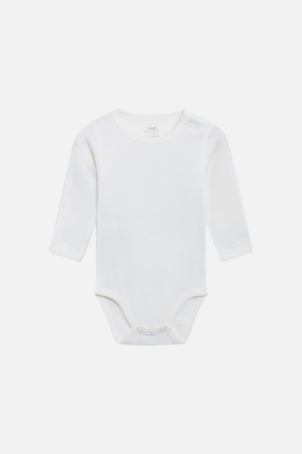 Hust and Claire - Body Bo i merinoull, offwhite