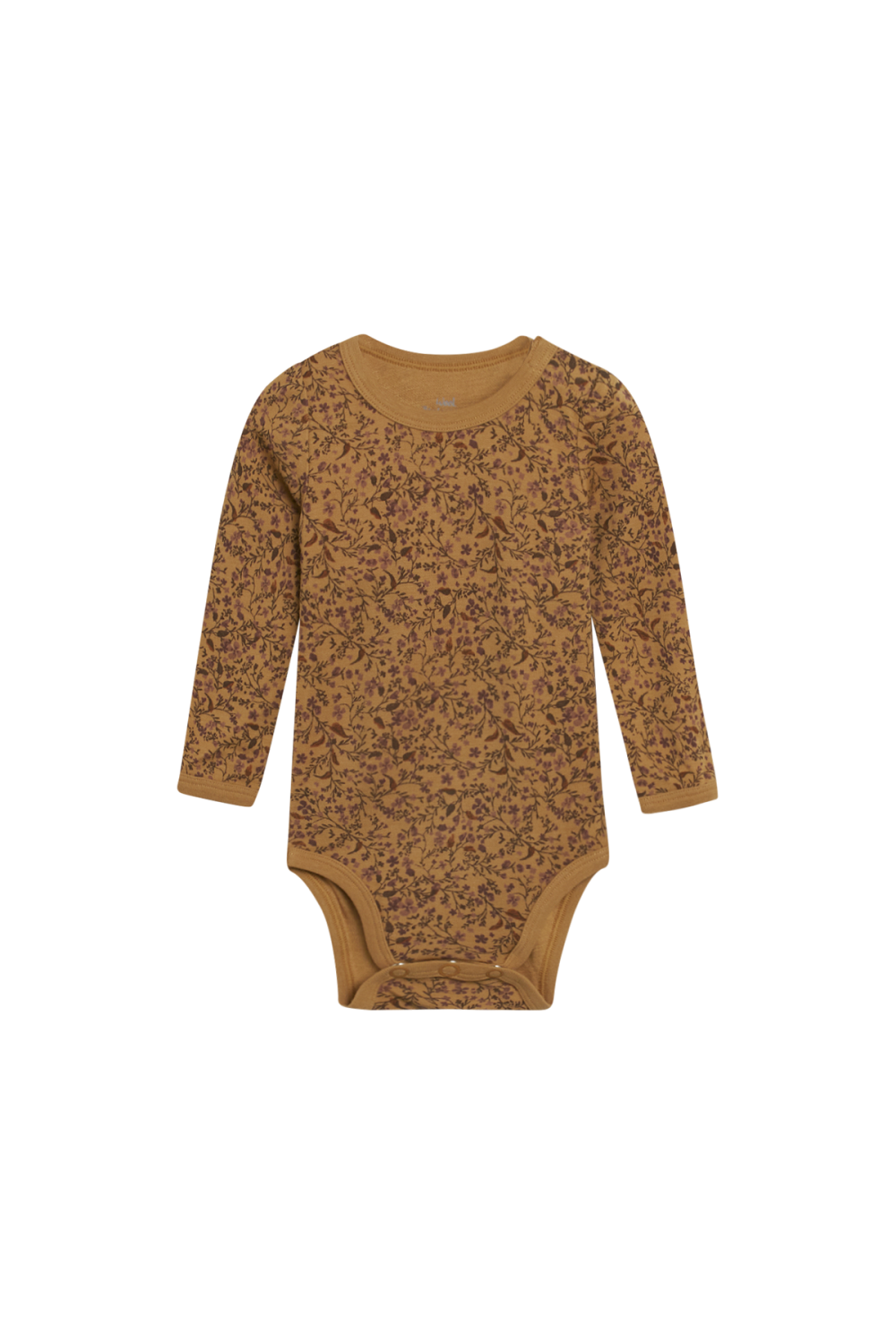 Hust and Claire - Levering august 21 Body Badia  i ull/bambus med blomster, cinnamon
