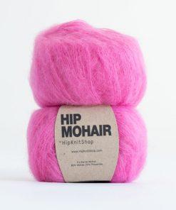 Hip mohair Bubblegum pink