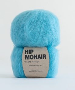 Hip mohair Holiday sky turkis