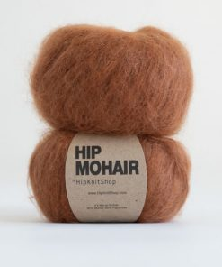 Hip mohair Caramel fudge brun