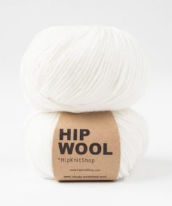 Hip Wool Dancing snowflake white