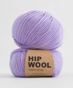 Hip wool Perfect purple