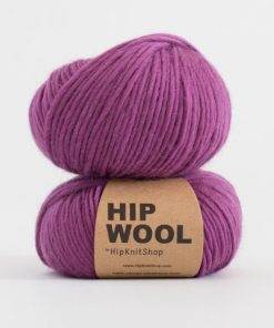 Hip Wool Pretty plum