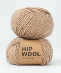 Hip Wool Cookie dough light brown