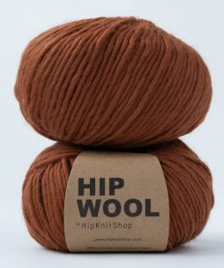 Hip wool Blazing bronze