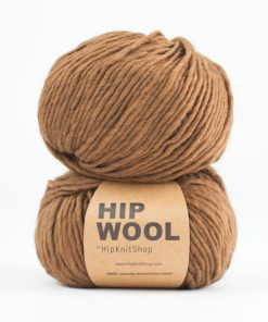 Hip Wool Cinnamon brown blend