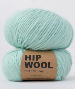 Hip wool Sjøgrønn