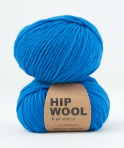 Hip wool Falling for you blue