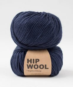 Hip wool Midnight mood blå