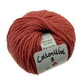 Cottonwool5 355 Dusty red