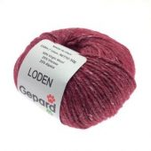Loden 604 deep red