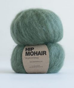 Hip mohair Dark olive