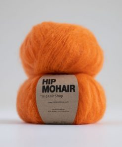 Hip mohair Oh la la orange