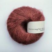 Soft silk mohair Blommerosa
