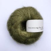 Soft silk mohair Oliven