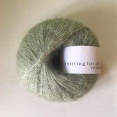 Soft silk mohair Støvet Artiskok