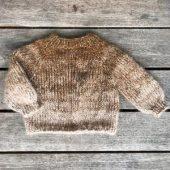 Farveregne sweater barn