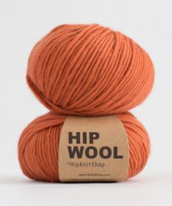 Hip wool Spicy orange