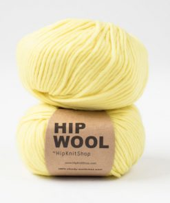 Hip wool Summer vibes yellow