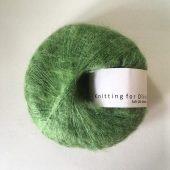 Soft silk mohair Kløvergrøn