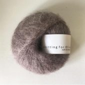 Soft silk mohair Taupe