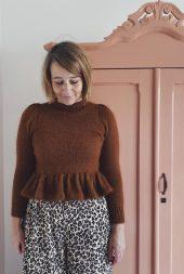 Peplum sweater NORSK