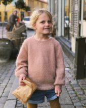 Novice sweater junior - mohair edition