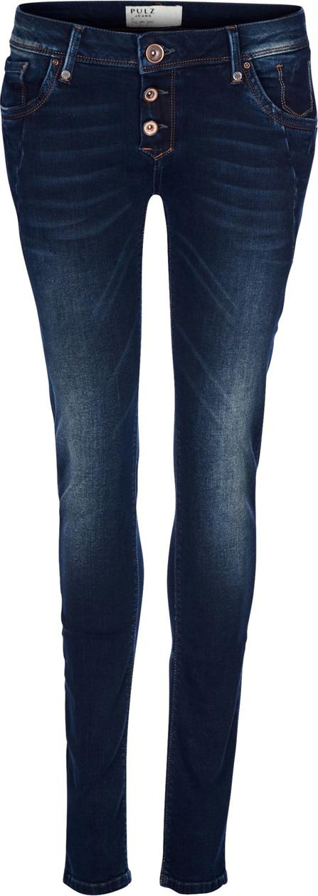 Pulz Rosa skinny jeans smal stretch med knapper i gylf