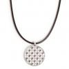 A&C Classic Ornament smykke med lærreim