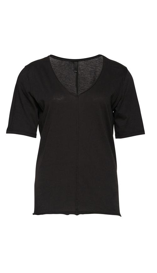 Pulz Holly t-skjorte med V-hals