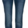 Pulz Stacia curve stretch jeans smale ben og god vidde hofte/lår