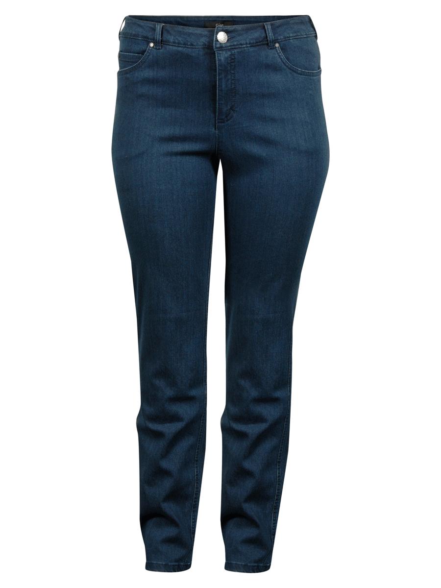 Ciso Rose denim pants, regular fit, denimblå