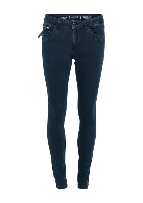 SoyaConsept Sc-Shadi mørk blå smal stretch Jeans